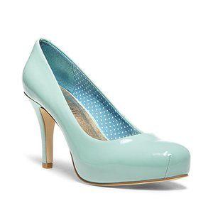 🎬✨Madden Girl Platform Pump Tiffany Blue